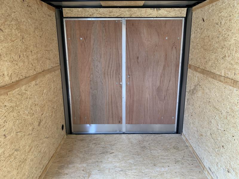2022 (76131) 7 X 12'TA Double Door Enclosed Cargo Trailer