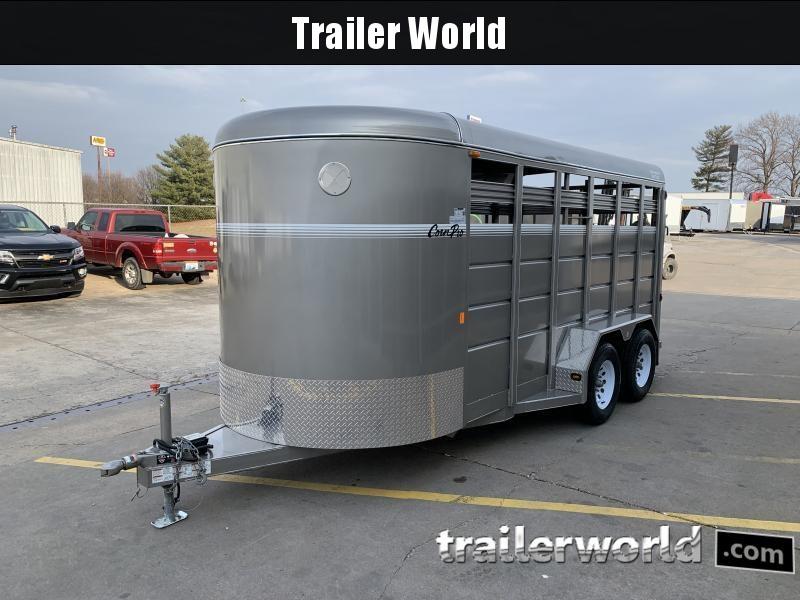 2018 CornPro SB-16 6S Livestock Trailer