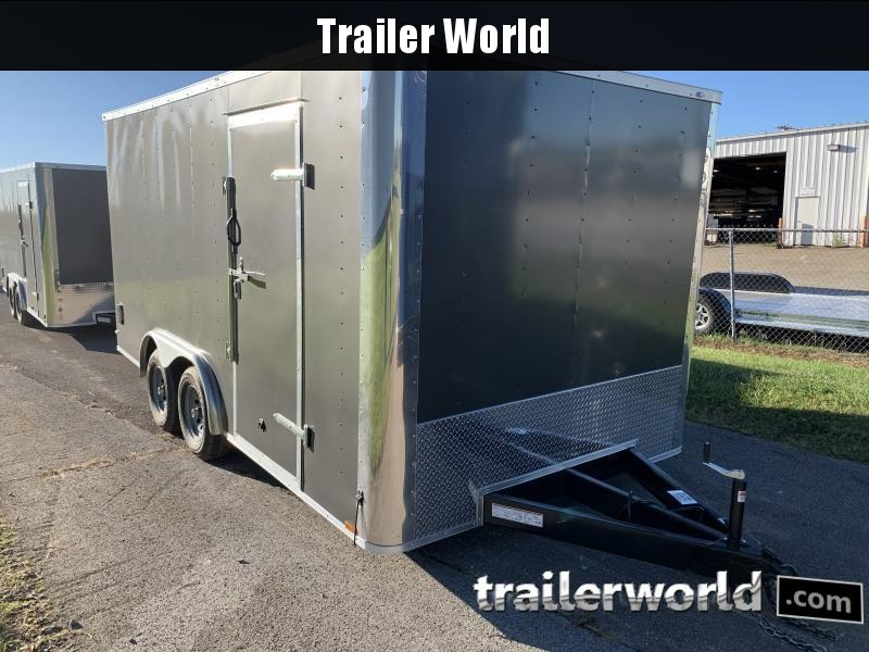 2021 Lark 8.5X16TA Conventional Nose Enclosed Cargo Trailer