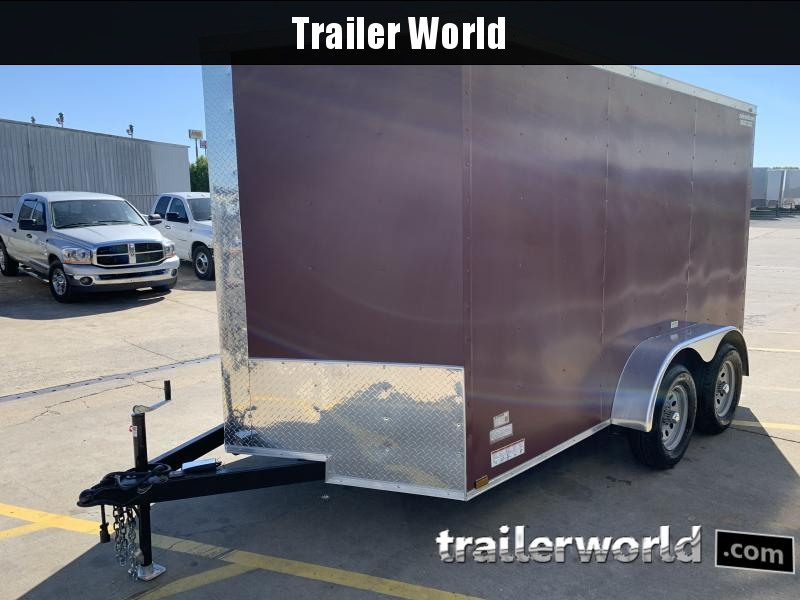 2021 25579 7 x 12'TA Cargo / Enclosed Trailer