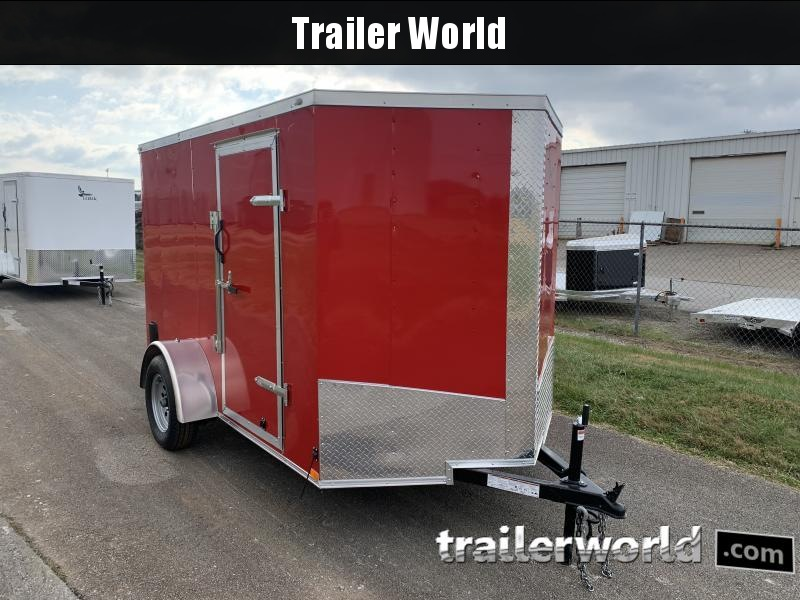 2021 Lark 6' X 10' SA Enclosed Cargo Trailer
