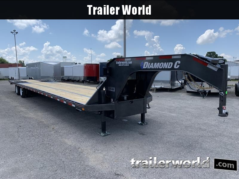 2020 Diamond C FMAX212 44' Hydraulic Dovetail