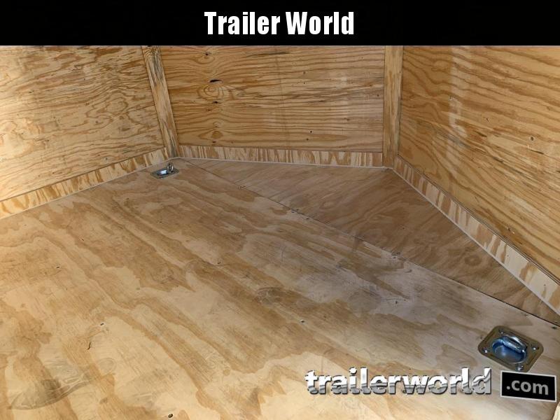 2021 CW 7' x 14' x 6.5' Vnose Enclosed Trailer Black Out