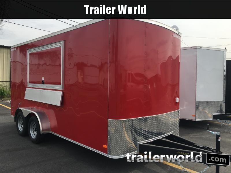 2021 Covered Wagon Trailers 16' Vending / Concession Trailer