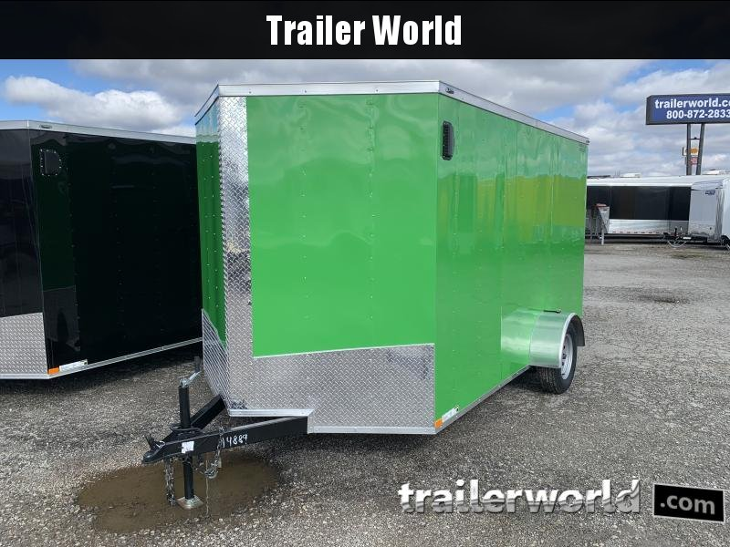 2021 Lark 7X12'SA Enclosed Cargo Trailer