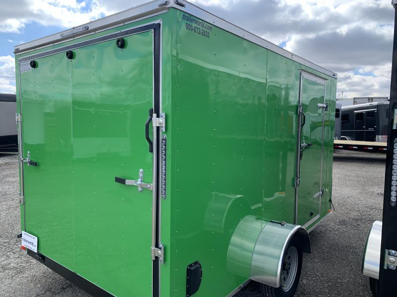 2021 Lark 7X12'SA Enclosed Cargo Trailer