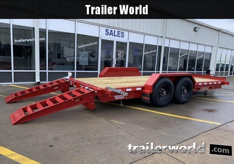 2021 Midsota ST-18 Equipment Skid Steer Trailer 15400lb GVWR