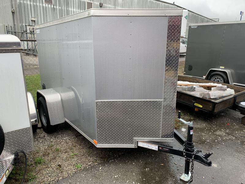 2021 Lark 5X8SA Enclosed Cargo Trailer