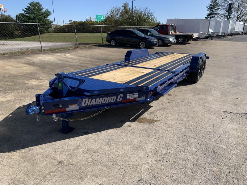 2021 Diamond C HDT 22' Tilt-Bed Equipment Trailer 7 Ton