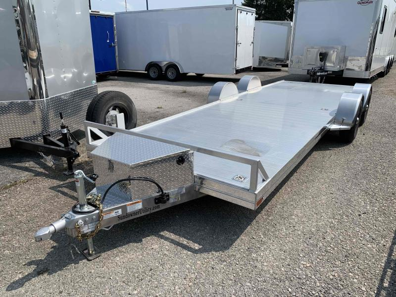2021 Sundowner 4000AP - 22' Aluminum Open Car Hauler Trailer