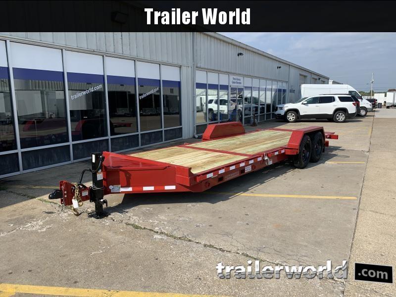 2022 Midsota TB-22' Split Deck Tilt Equipment Trailer