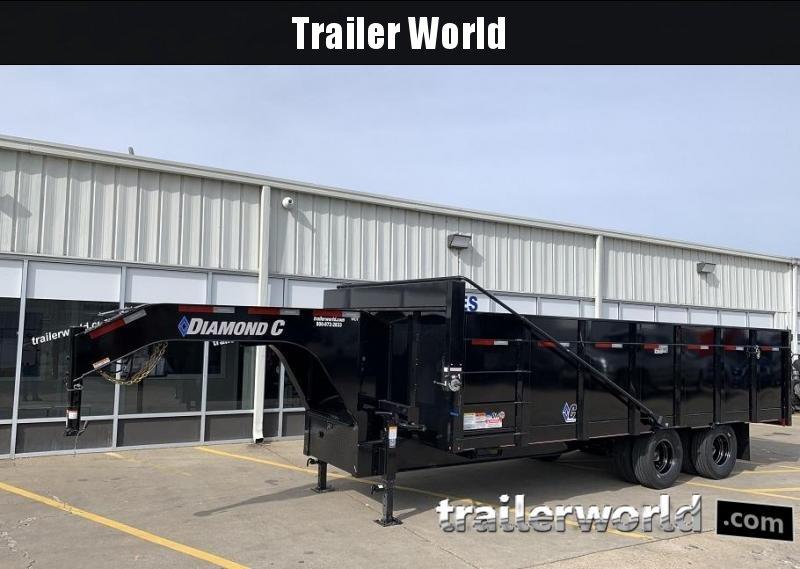 2020 Diamond C WDT 20' Gooseneck Dump Trailer