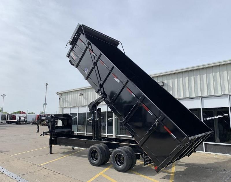 2021 Diamond C WDT 20' Gooseneck Dump Trailer