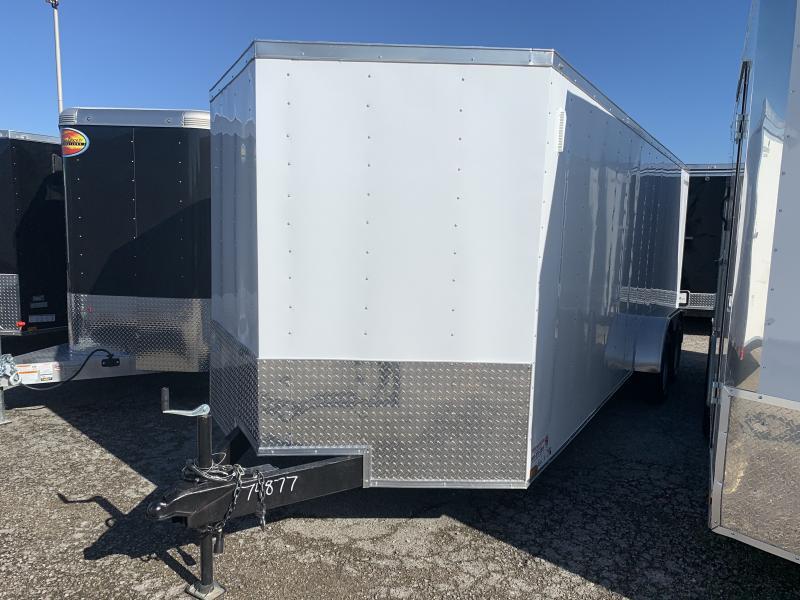 2022 (74877) 7 x 20'TA Enclosed Cargo Trailer