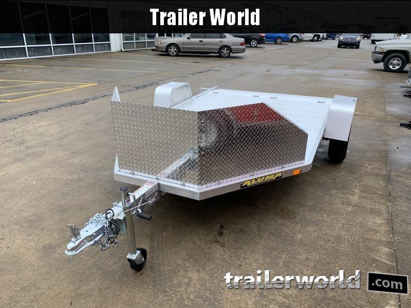 2022 Aluma MC210S-R-RTD Motorcycle Trailer