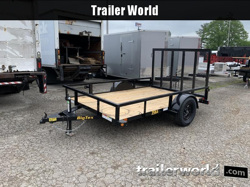 2021 Big Tex Trailers 35SA 10' Utility Trailer