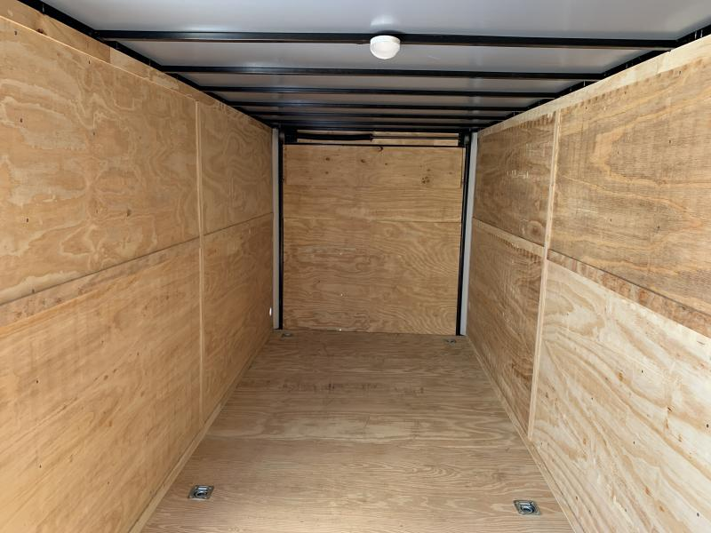 2020 Lark 7' x 20' x 7' Enclosed Cargo Ramp Door