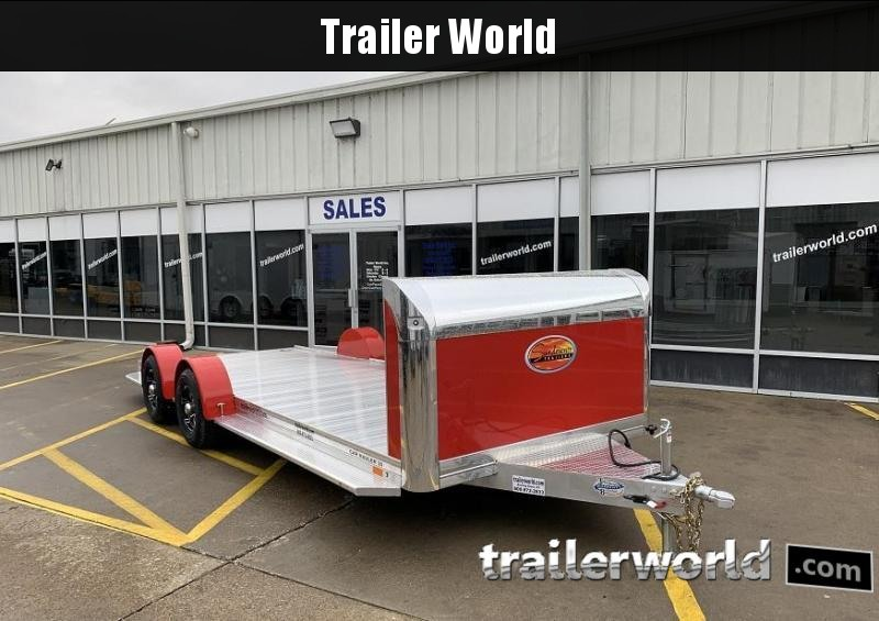 2021 Sundowner 20' Aluminum Open Car Hauler Trailer