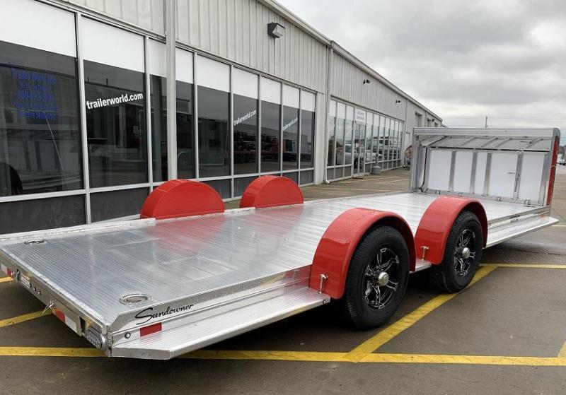 2021 Sundowner 20' Aluminum Open Car Hauler Trailer