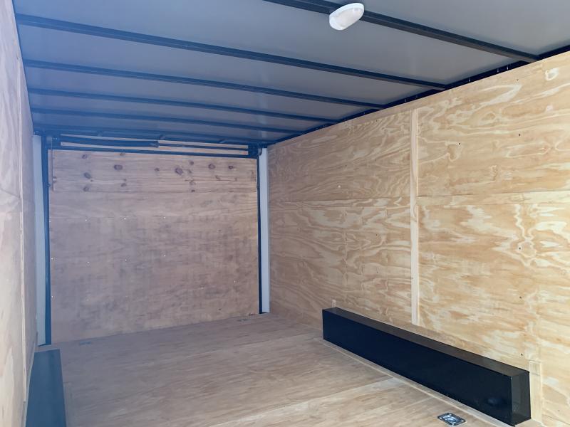 2021 Lark 8.5' x 22' Enclosed Cargo Ramp Door