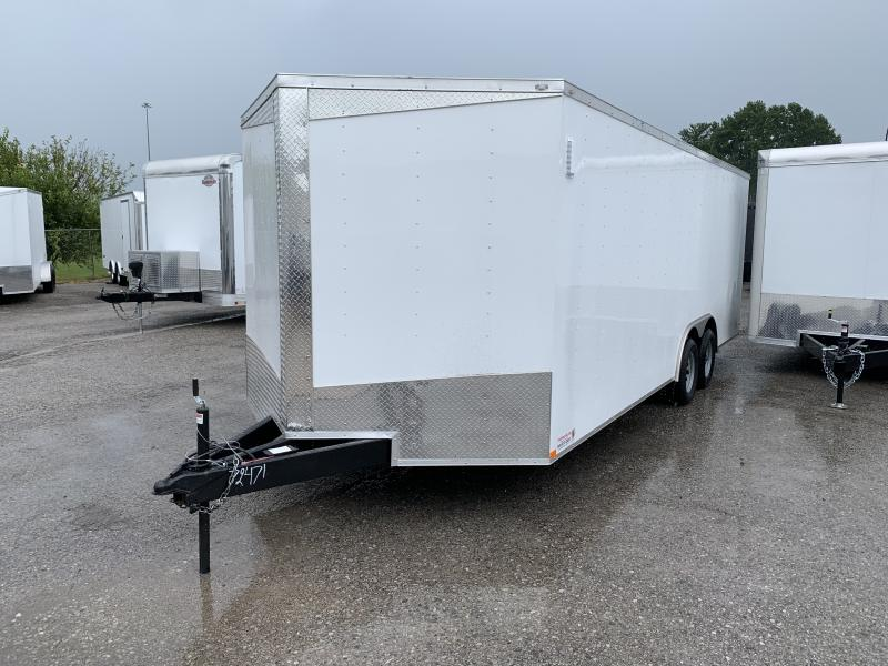 2021 Lark 8.5' x 22' Enclosed Cargo Ramp Door