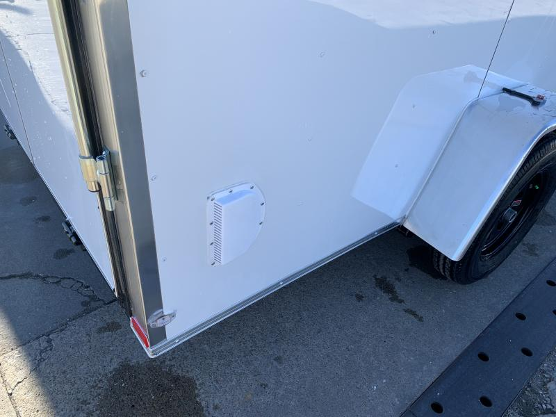 2021 Lark 6' x 12' Vnose Ramp Door Trailer