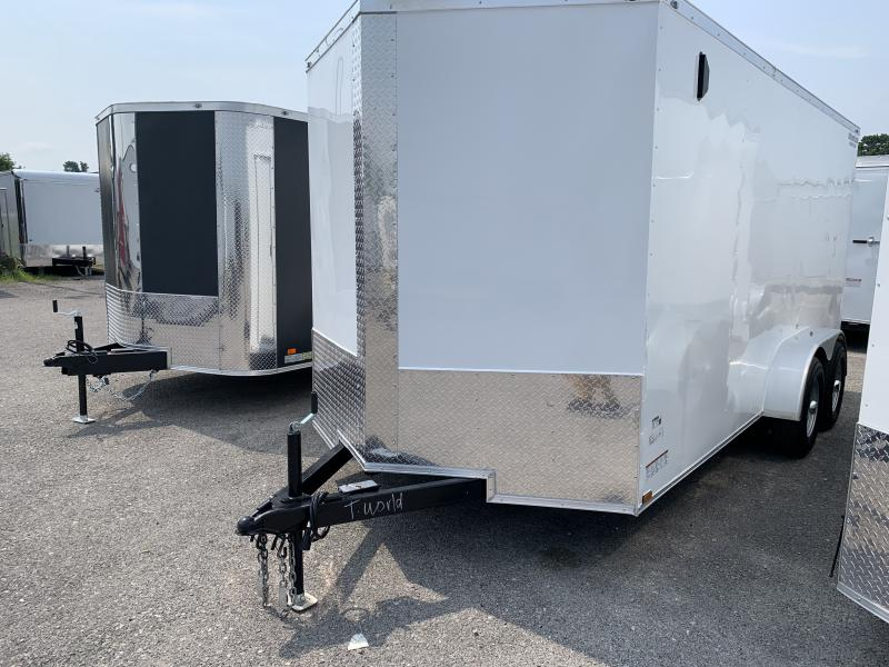2021 26132 7 x 16'TA Enclosed Cargo Trailer