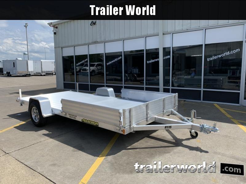 2021 Aluma 8115S-R Aluminum Utility ATV Trailer