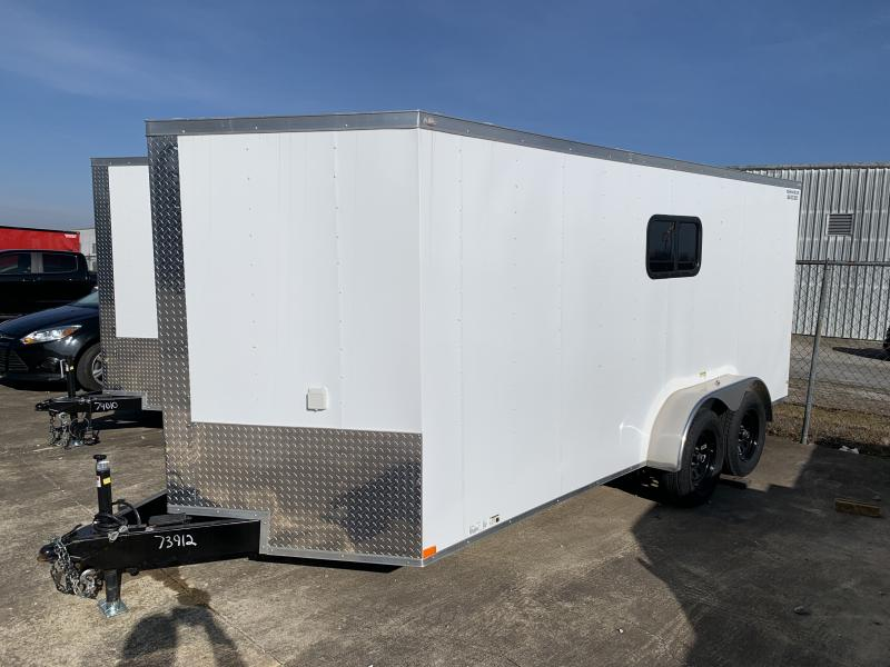 2021 Lark 7' X 16'TA Enclosed Cargo Trailer