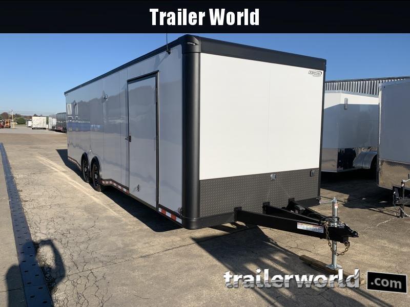 2021 Bravo Star 28' Enclosed Car Trailer
