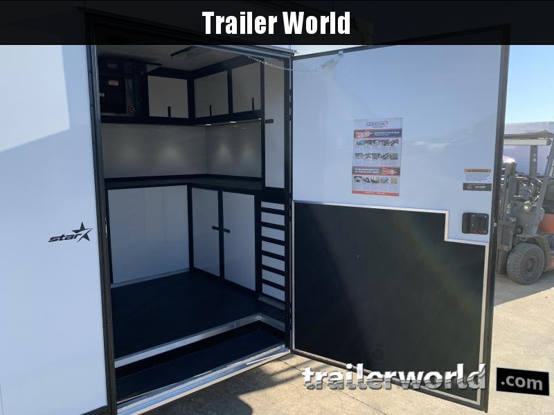 2021 Bravo Star 28' Enclosed Car Trailer