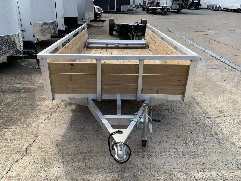 2020 Sure-Trac 6 X 12 Aluminum Tube Top Three Board  3K