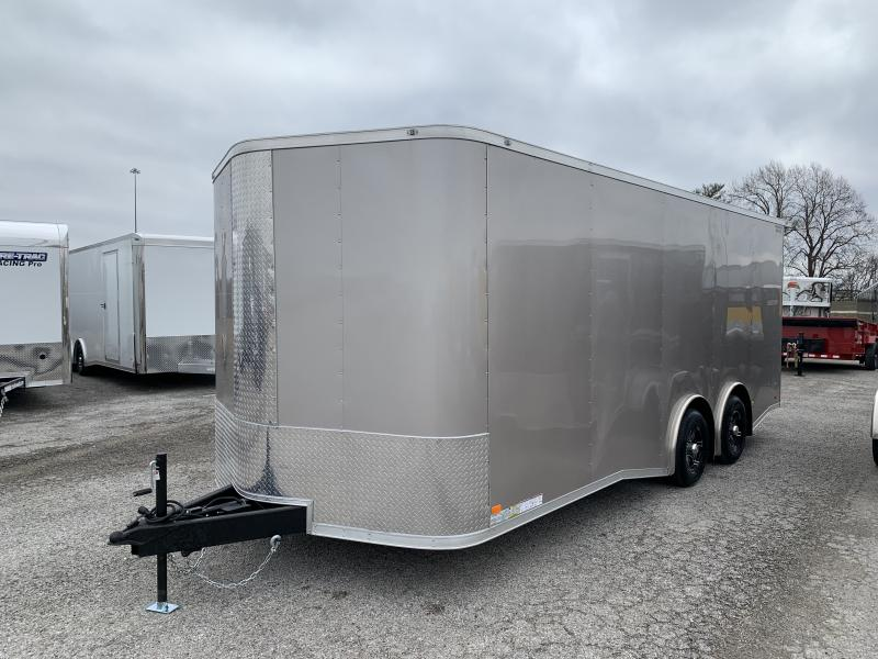 2021 CW 20' Spread Axle Enclosed Car / Racing Trailer