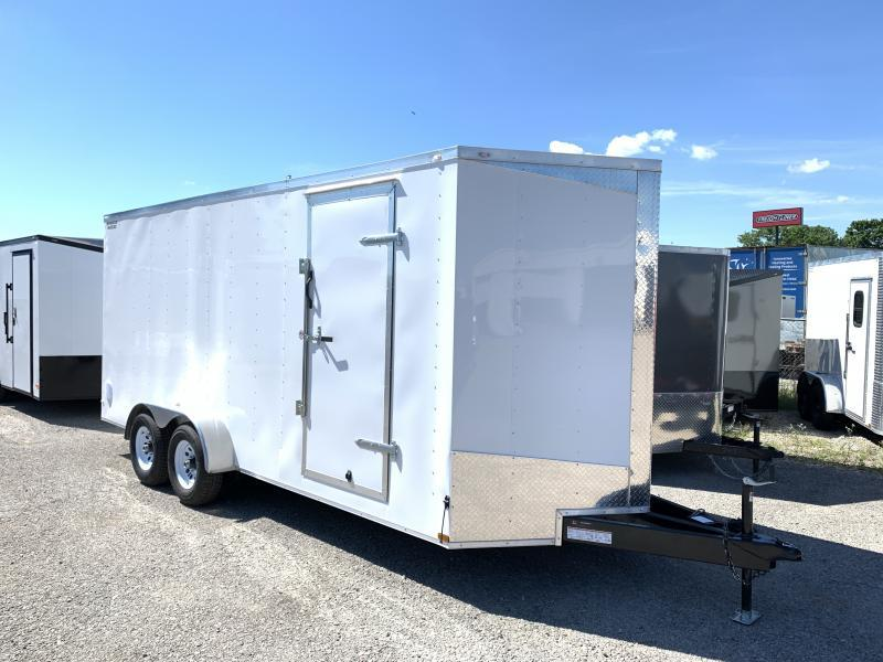 2021 Lark 7 x 18 x 7 Enclosed Cargo Ramp Door 10k