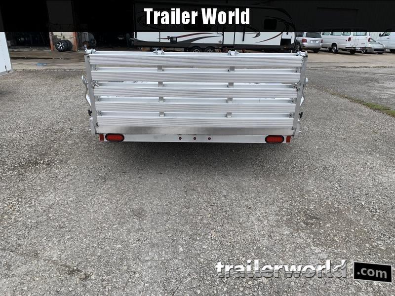 2021 Aluma 7816BT-ESA 16'  Aluminum Open Utility Trailer