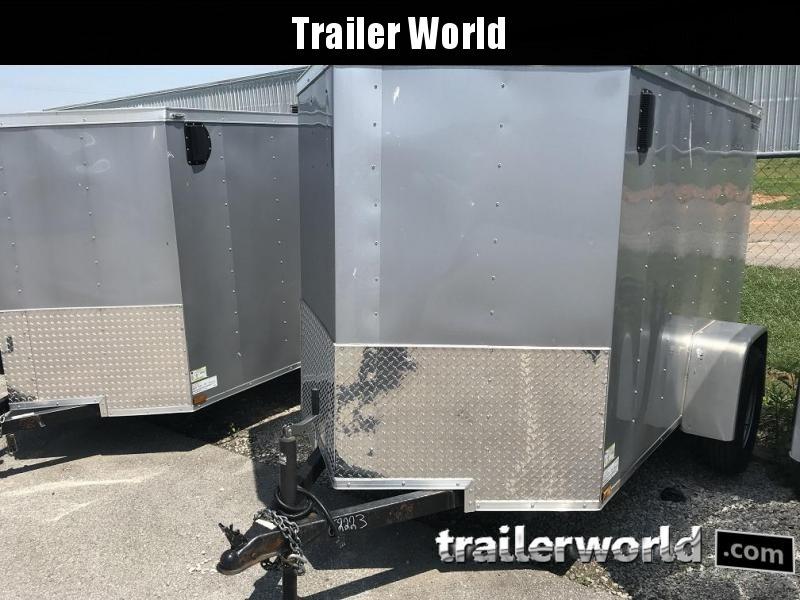 2021 Lark 5' x 8'  Enclosed Vnose Cargo Trailer