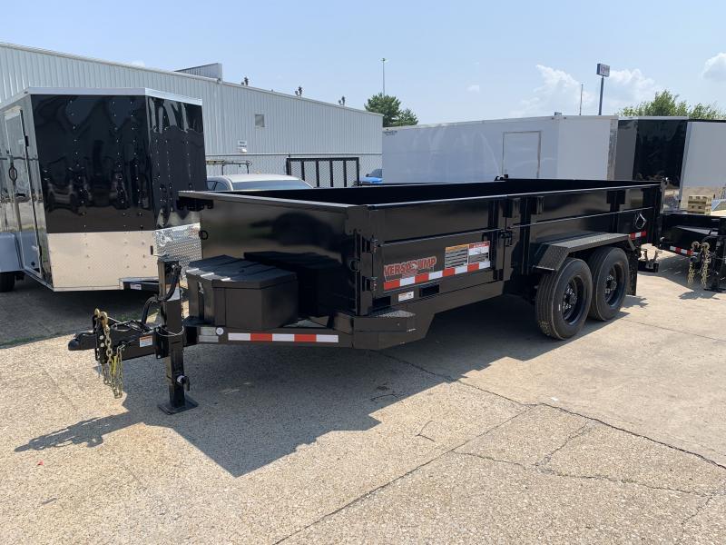 2021 Midsota HV-16' Commercial Grade Dump Trailer 15400 GVWR