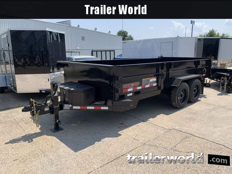 2021 Midsota HV-16' Commercial Grade Dump Trailer