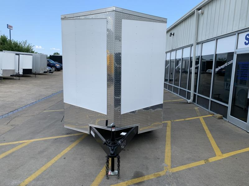 2020 Lark 7' x 22' x 7' Enclosed Cargo Ramp Door
