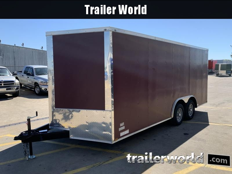 2021 25691 8.5' X 18'TA Cargo / Enclosed Trailer