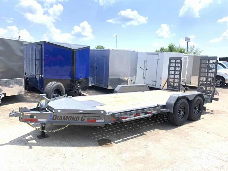 2020 Diamond C Trailers LPX 16' Skid Steer Equipment Trailer