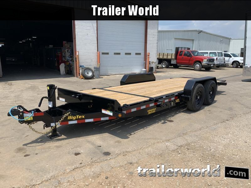 2022 Big Tex Trailers 14TL-20' BK Equipment Trailer