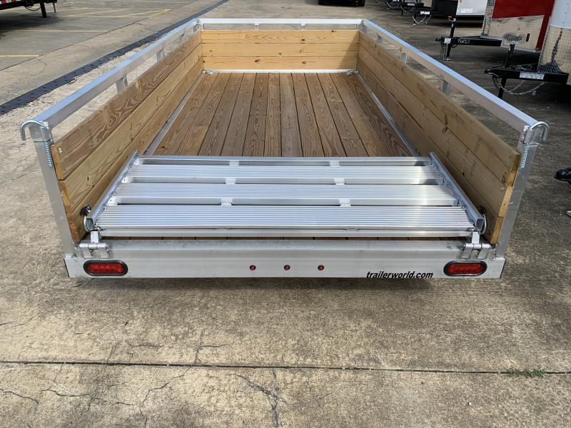 2021 Sure-Trac 6 X 10 Aluminum Tube Top Three Board  3K