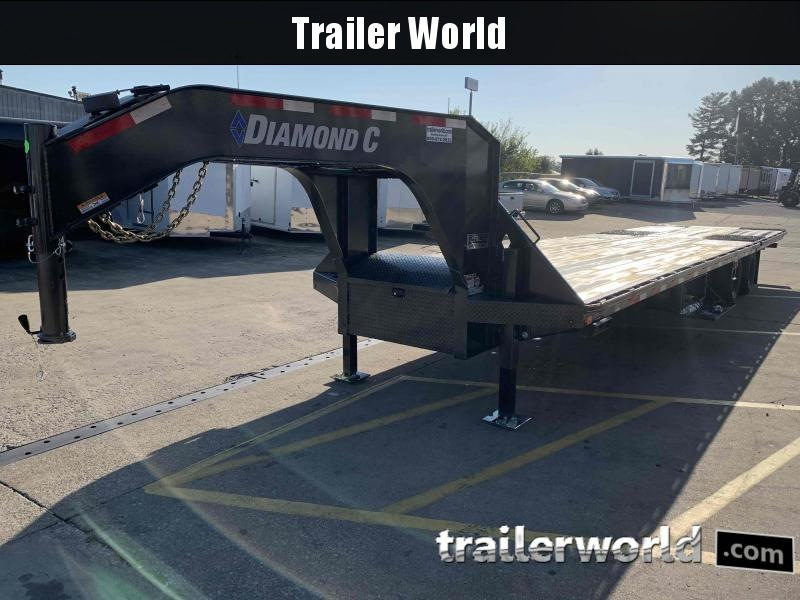 2021 Diamond C FMAX212 35 Hydraulic Dovetail Gooseneck Trailer 25900GVWR