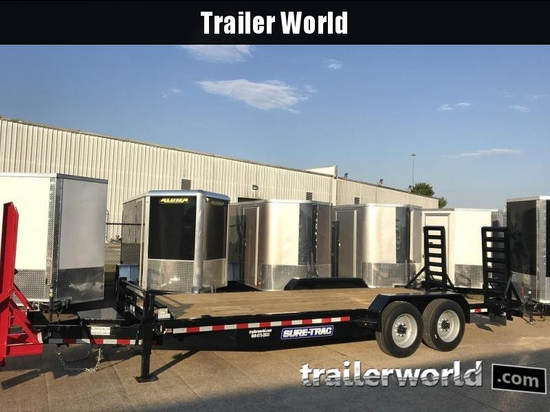2019 Sure-Trac 20' Equipment Trailer 16k GVWR 17.5 Tires