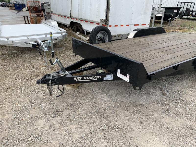 2015 Rice Trailers 16' Flatbed Trailer