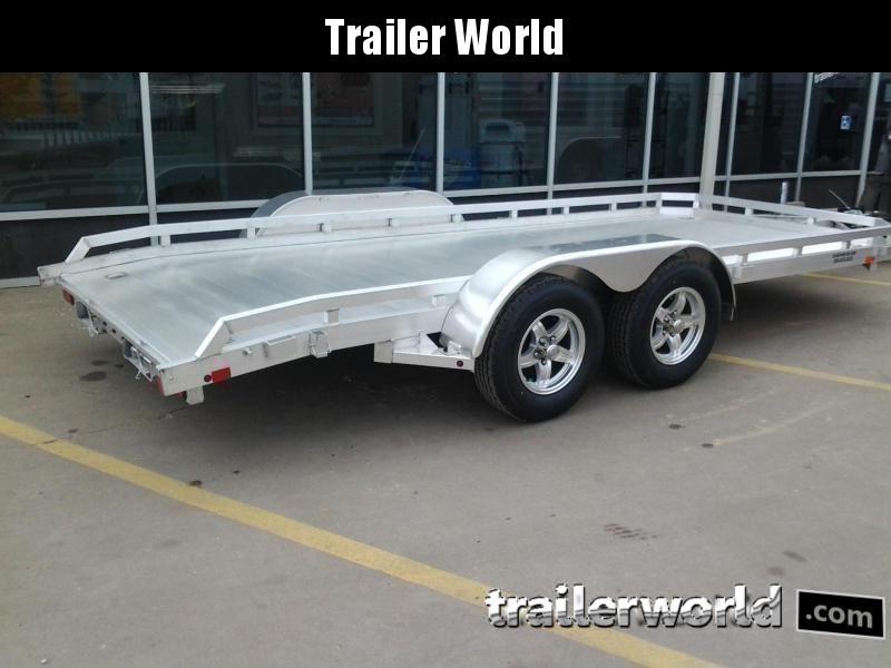 2021 Aluma 7816B 16 Aluminum Open Car Hauler