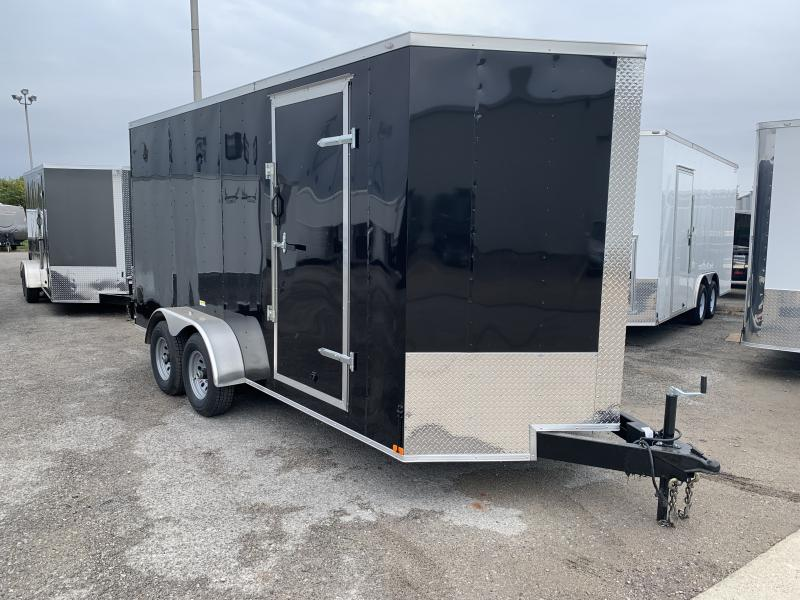 2021 Lark 7' x 16' Enclosed V Nose Cargo