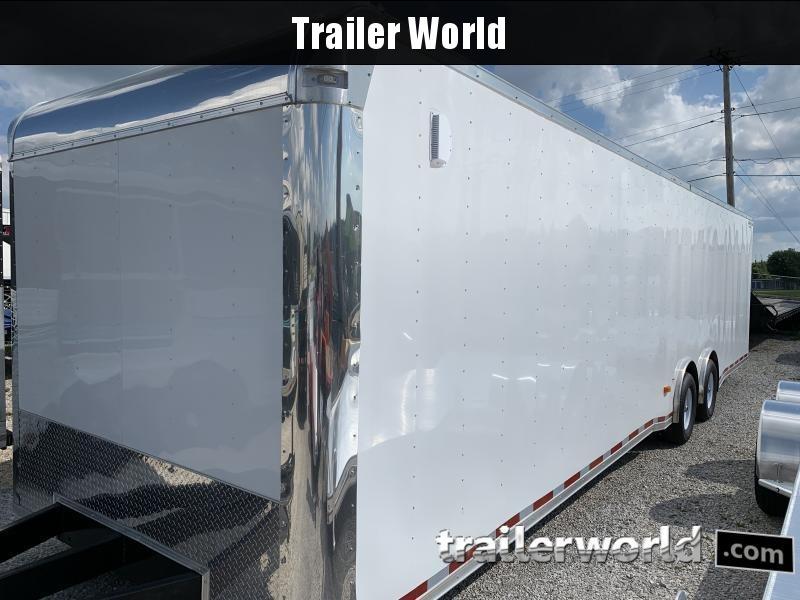 2020 Lark 34' Spread Axle Enclosed 2 Car Hauler Trailer