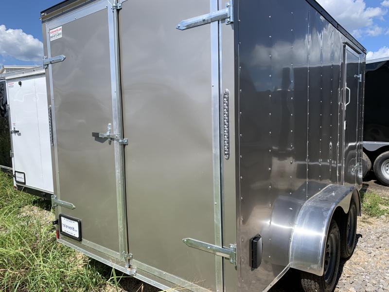 2022 (76130) 7 X 14'TA Double Door Enclosed Cargo Trailer